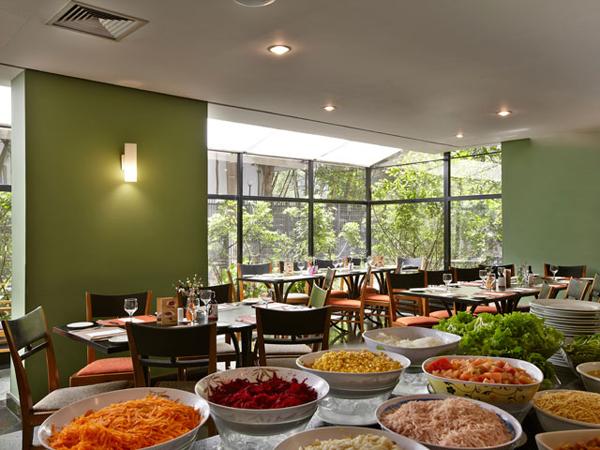 café restaurante Transamérica Executive 21st Century