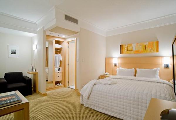 quarto hotel slaviero executive guarulhos