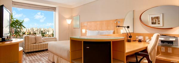 quarto hotel hilton morumbi