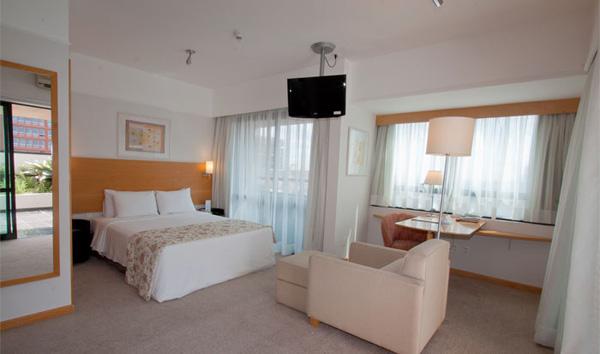 apartamento luxo premier double do hotel blue tree premium paulista