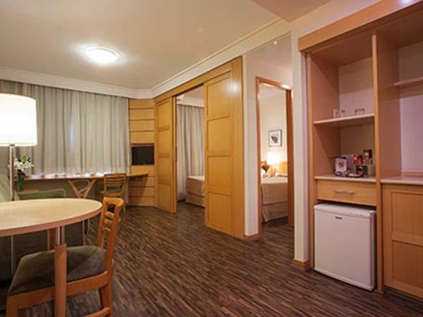 sala de estar hotel green place flat
