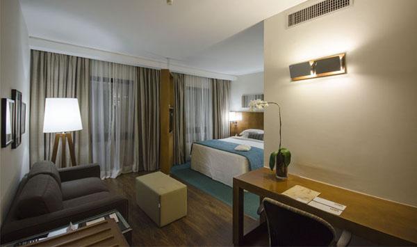 quarto do hotel stanplaza berrini