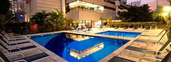 piscina do hotel golden tulip paulista plaza