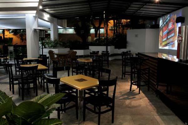 área externa com shopperia do hotel trianon paulista