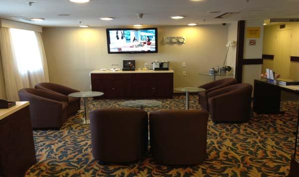 lounge sala vip midori hotel blue tree premium verbo divino