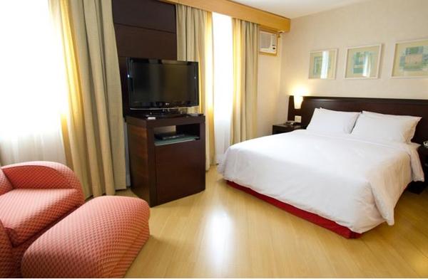 quarto Hotel Mercure São Paulo Vila Olímpia
