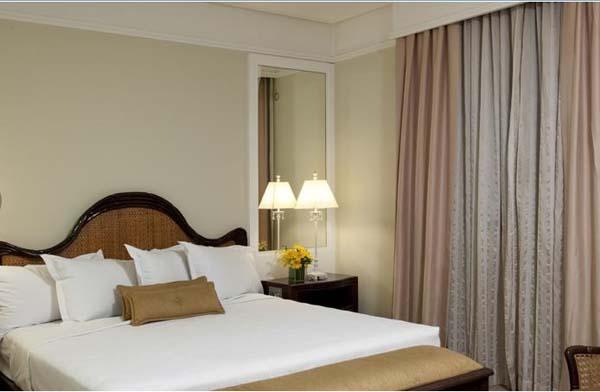 quarto do Bourbon São Paulo Business Hotel
