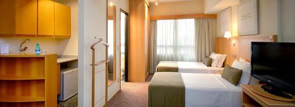 quarto do hotel golden tulip paulista plaza
