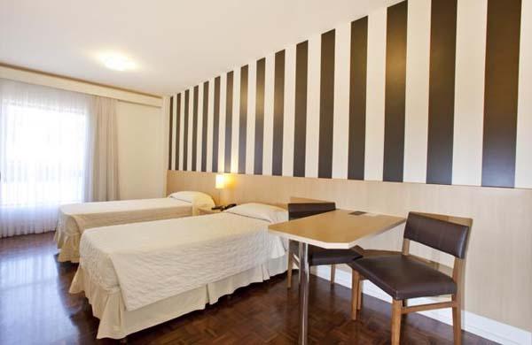 quarto funcional do  hotel 155