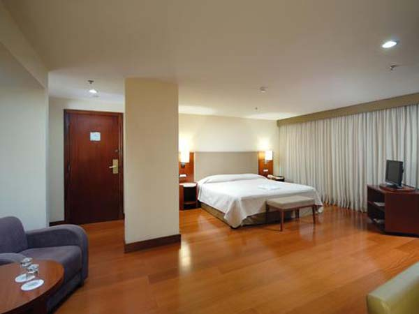 quarto do hotel golden tulip belas artes