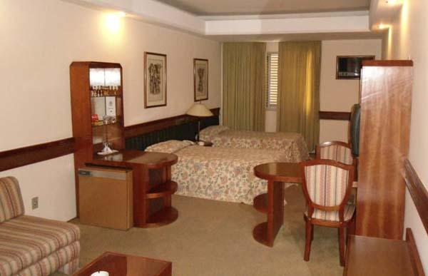 quarto do hotel gran corona