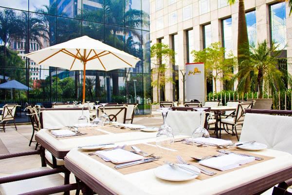 restaurante mediterrâneo hotel hilton são paulo morumbi