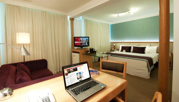 suite queen Hotel Comfort Suites Oscar Freire
