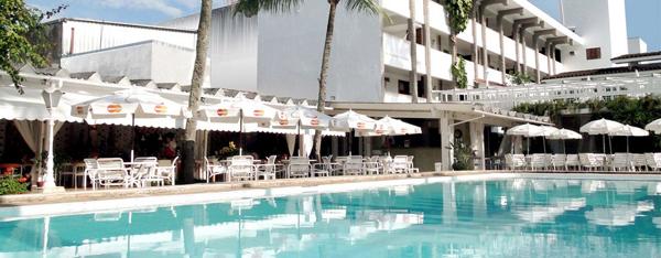 piscina hotel ubatuba palace