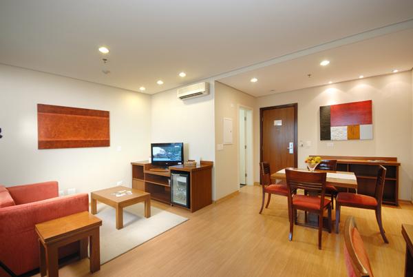 quarto do hotel luz plaza