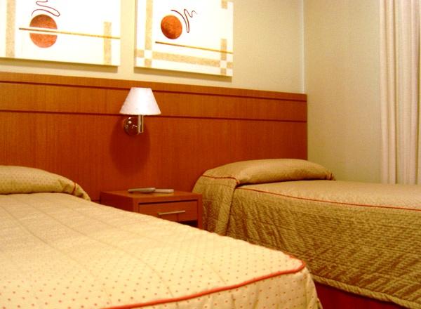 quarto do hotel matiz the premium
