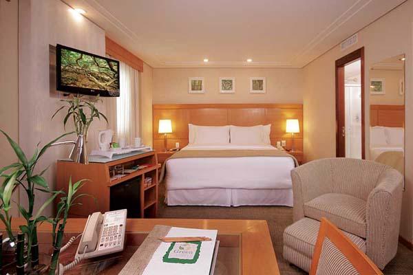quarto hotel Melia Jardim Europa