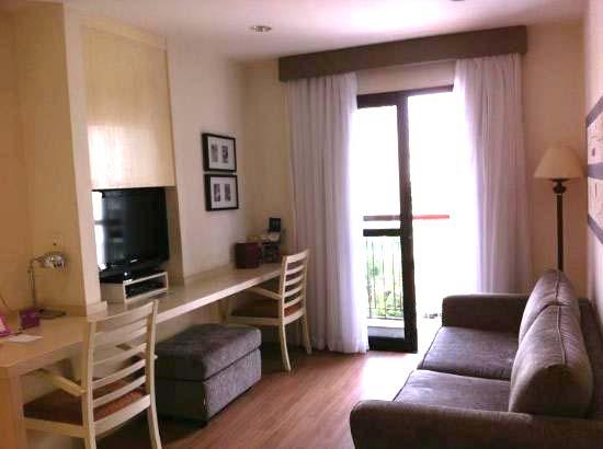 quarto Hotel Mercure Sao Paulo Moema