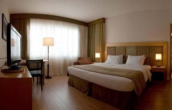 quarto do hotel mercure são paulo jardins